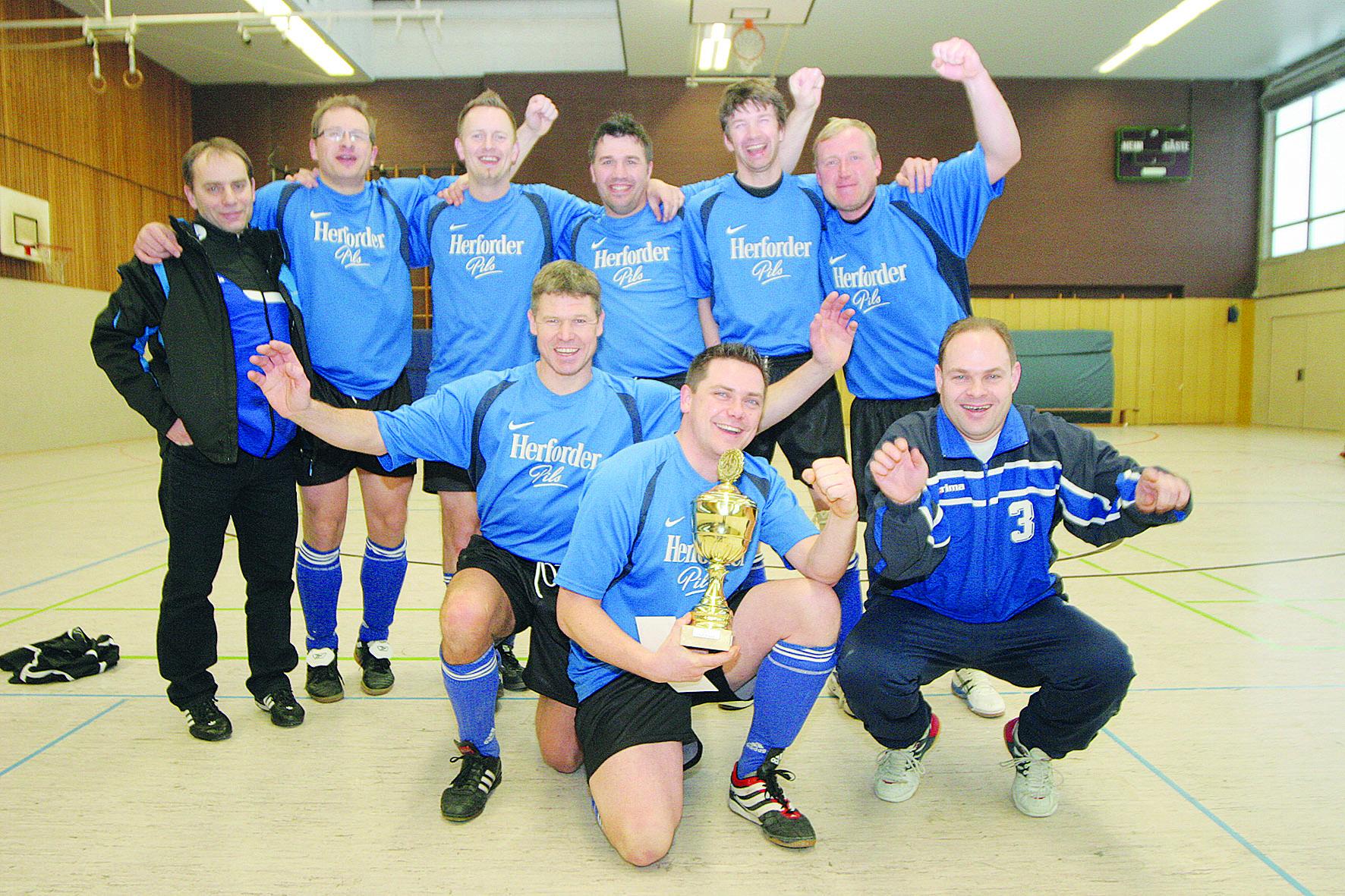 Das Siegerteam 2014